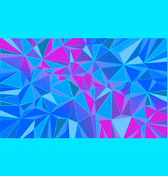 red blue triangle abstract background christmas vector image