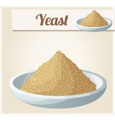 Yeast Detailed Icon vector image