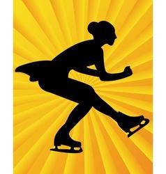Figure skater4 vector