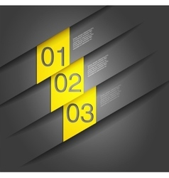 Abstract number Line background vector image vector image
