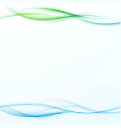 Bright abstract green blue gradient beautiful vector