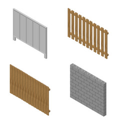 A set of isometric spans fences vector