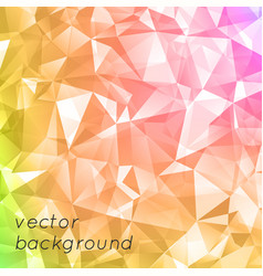 abstract triangular background modern universal vector image