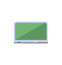 Blackboard isolated icon in flat style vector