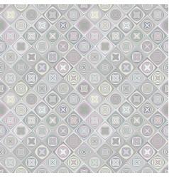 Repeating diagonal shape pattern - mosaic vector
