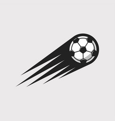 soccer speed icon vector image