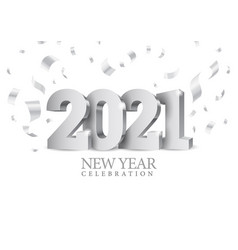 text design 2020 vector image