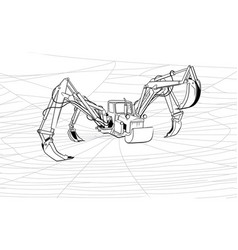 Tractor-spider or increase of the productivity vector