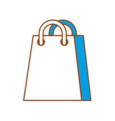 shopping bag ecommerce marketing online app vector image