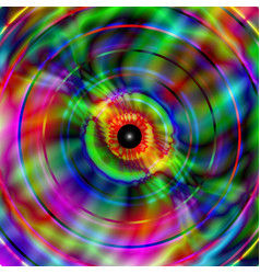 vivid and vibrant vague pattern vector image