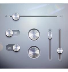 UI elements vector image vector image