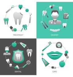 Dental Design Concept vector