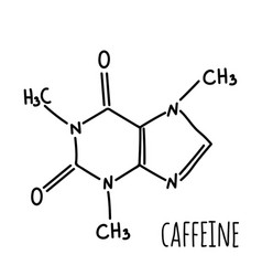 Molecular structural chemical formula vector