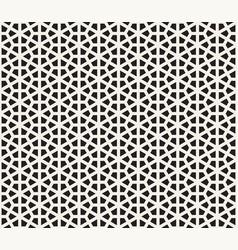 seamless hexagon pattern modern stylish abstract vector image