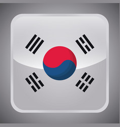 South korea design vector