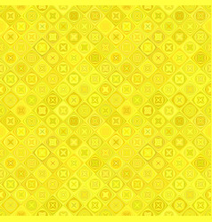 yellow abstract diagonal curved shape tile mosaic vector image