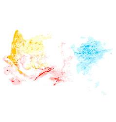 splatter color background vector image