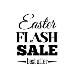 easter sale offer vector image vector image