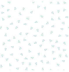 abstract triangle pattern white background vector image