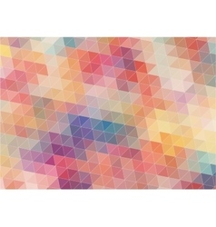 Abstract Two-dimensional colorful background vector image