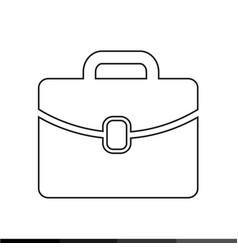 bag icon design vector image