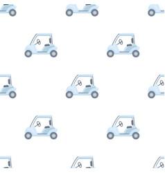 car for golfgolf club single icon in cartoon vector image