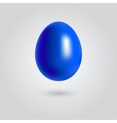 Easter blue eeg vector