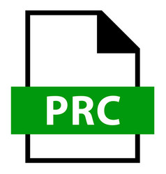 File name extension prc type vector