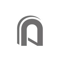 Letter A Logo Concept Icon vector image vector image