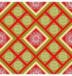 mosaic endless pattern vector image