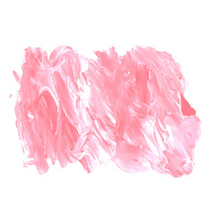 pink rose coral grunge marble watercolor vector image
