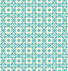 Seamless pattern of arabic ornament vector