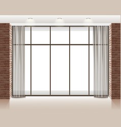 Window in room vector