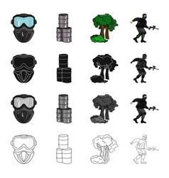 game competition ecology and other web icon in vector image vector image