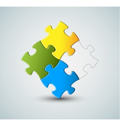 Puzzle solution vector