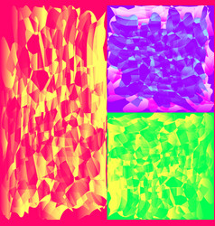 a set of mosaic textures for the image of the sky vector image