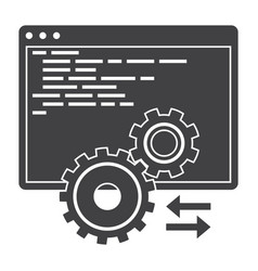 Api icon vector