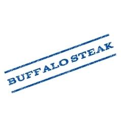 Buffalo Steak Watermark Stamp vector image