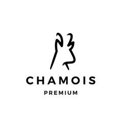 chamois logo icon vector image