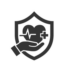Health insurance icon images vector