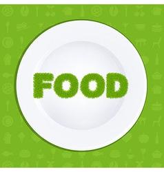 Food vector image vector image