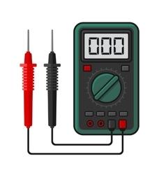 Digital multimeter Electrical Measuring vector image vector image