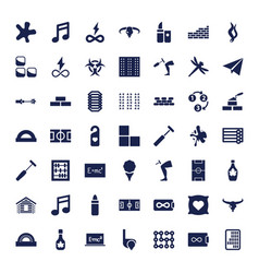 49 texture icons vector
