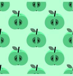 apple simple pattern vector image