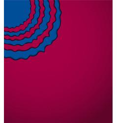 Blue - pomegranate background vector