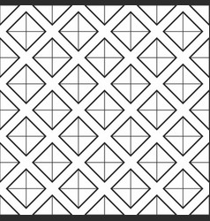 Geometric seamless pattern simple background vector