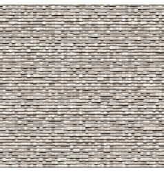 Gray background of small bricks vector