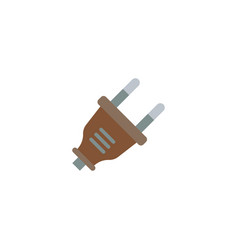 plug icon flat element of vector image