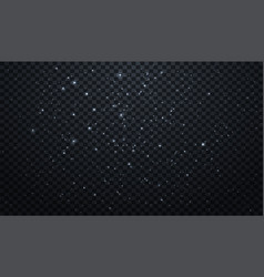 snow transparent realistic background vector image