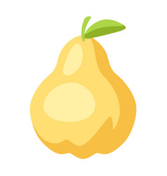 stylized pear vector image